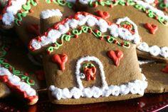 13 Fun, Festive Christmas Cookie Decorating Ideas Holiday Treats, Christmas Treats, Christmas Recipes, Christmas Ornaments, Holiday Recipes, Holiday Desserts, Holiday Fun, Winter Treats, Jolly Holiday