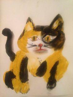 """Saatchi Art Artist Heidi Joy; Painting, """"Patch"""" #art"""