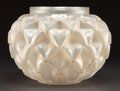 R. LALIQUE OPALESCENT GLASS CEYLAN VASE . Circa 1924. Stenciled: R. | Lot #62208 | Heritage Auctions