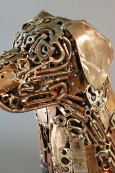 These welded dogs are so cool!
