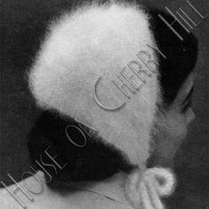 Angora Mink Knitted Head Band knitting by HouseonCherryHill