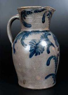 Planting Tulips, Plant Design, Stoneware, Auction, Pottery, Decoration, Floral, Virginia, Ceramica