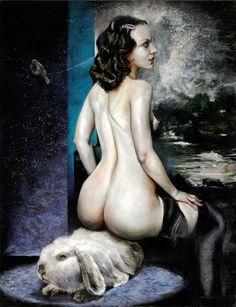 Martin Eder's Erotic Kitsch Nightmares (NSFW) | Beautiful/Decay Artist & Design