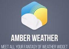 Aplicaţia zilei: Amber Weather Amber, Weather, Blog, Bazaars, Blogging, Weather Crafts, Ivy