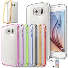 27 best galaxy s6 edge cases images samsung galaxy s6, leathersamsung galaxy s6 case slim transparent crystal clear hard tpu cover edge gs61 unbrandedgeneric