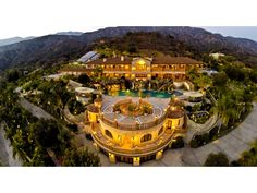 Magnificent Mediterranean Estate, Bradbury CA Single Family Home - Pasadena Real Estate