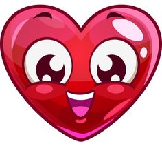 Smiling Heart Face