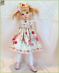 """Beauty Of May ""  Dress  for Kaye Wiggs Talyssa, Mei mei  MSD BJD."