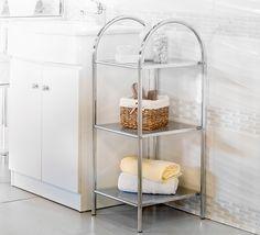 ¡Un lugar perfecto para guardar las toallas! #Sodimac #Homecenter #Baño #Organización