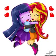 Sunset Shimmer x Twilight Sparkle (SunLight) - FIMFiction.net
