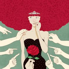'The Pros and Cons of being a Redhead' x marcos chin @Annabelle