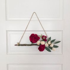 Paper Flowers Wall Hanger Peony by AmaranthusPaperFlora on Etsy Paper Flower Wall, Paper Flowers, Ranunculus, Peony, Modern Wreath, Arts And Crafts, Diy Crafts, Wall Hanger, Modern Decor