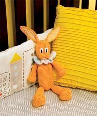 Cheddar Bunny: Free Crochet Toy Pattern