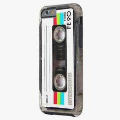 Cute iPhone 6 Case! This Vintage cassette tape label iPhone 6 case can be personalized or purchased as is to protect your iPhone 6 in Style!