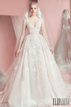 Zuhair Murad Collezione 2016 - Sposa - http://it.flip-zone.com/fashion/bridal/the-bride/zuhair-murad-5620