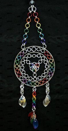 Rainbow Dreamcatcher - Dreamcatchers & Candle Holders - Gallery - TheRingLord
