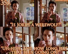 Despite being a werewolf, (which is pretty darn cool) Oz is the calmest character in the entire series.