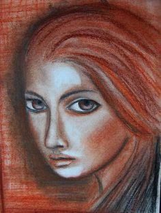 Chalk, Cristina Zinnia Galliher Mixed Media Painting, Zinnias, Journaling, Mona Lisa, Art Ideas, Artwork, Work Of Art, Caro Diario, Auguste Rodin Artwork
