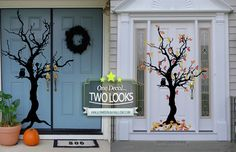 Fall & Halloween Tree from www.tradingphrases.com! Add this spooky tree to your fall decor and double up- perfect for both fall and Halloween! Save 20% today!