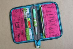 tute for Zip Organizer from Zakka Style by Spotted Stone Studio {Krista}, via Flickr lots of pix