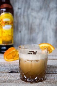 Kaffe-Martini med appelsin