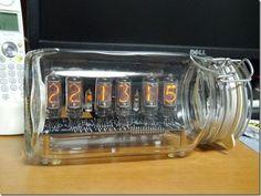 IN-8-2 自作ニキシー管時計 DIY IN-8-2 nixie tube clock