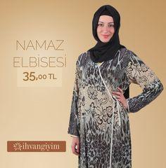 Yandan Bağlamalı Mavi Renkii Namaz Elbisesi... http://www.ihvangiyim.com/namaz-elbisesi-40/namaz-elbisesi-yandan-baglamali-mavi-10165/