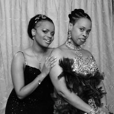 Princess Sikhanyiso Dlamini with her mother, Inkhosikati Lambikiza of Swaziland