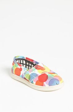 TOMS 'Classic Tiny - Clea' Slip-On (Baby, Walker & Toddler) | Nordstrom