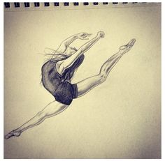 Dancer sketch I did!