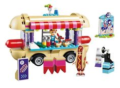 Hot Dog Shop Building Set (249 Pieces):  Price: $22.99 & FREE Worldwide Shipping.  Visit us and see our 300+ catalog.  We sell toys, materials and costumes with a learning purpose.  Your kids will thank you later!