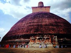 The Jetavanaramaya Dagoba, Sri Lanka.