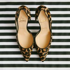 Leopard flats. #shoes #animal #print