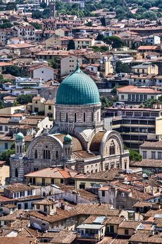 Top of Il Duomo, Florence, Italy