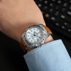 Working from home on a Friday isn't as easy as it seems. Who else struggles with Friday jitters? . . Find your perfect Rolex strap at www.everestbands.com Rolex Explorer, Breitling, Finding Yourself, Friday, Easy, Accessories, Soul Searching, Jewelry