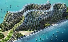 Coral Reef | Vincent Callebaut Architecture