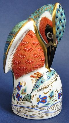 Royal Crown Derby Kingfisher http://www.bwthornton.co.uk/royal-crown-derby.php