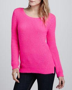 Nolita Long-Sleeve Ribbed Sweater by Splendid at Neiman Marcus.