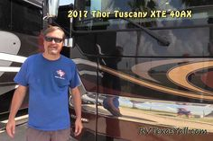 RV walk-through tour of a 2017 Thor Tuscany XTE 40AX. Class A Diesel Pusher Motorhome video tour by RVTexasYall.com.