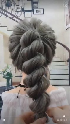 Hairstyles For Medium Length Hair Easy, Braids For Long Hair, Cute Hairstyles, Braided Hairstyles, Wedding Hairstyles, Step Hairstyle, Hairstyle Tutorials, Woman Hairstyles, Hairstyles Videos