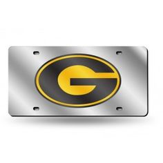 Grambling State Tigers Silver Laser Etched License Plate/Tag