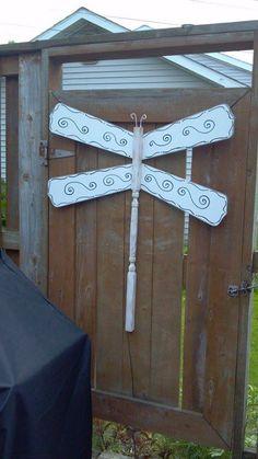 ceiling fan blade dragonfly ..