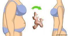 Fett auf dem Bauch kann man mit Ingwer brennen! Hier ist was zu tun ist...
