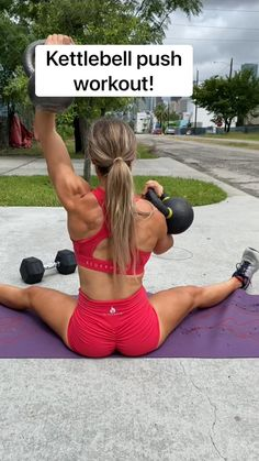 Push Workout, Triceps Workout, Workout Exercises, Gym Advertising, Fitness Workout For Women, Fitness Workouts, Monday Workout, Wellness Fitness, Health Fitness