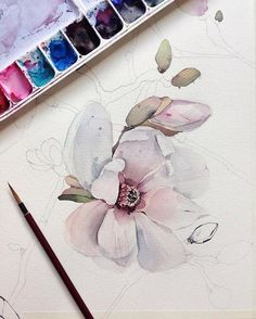 "5,964 Likes, 12 Comments - Watercolor illustrations (@watercolor.illustrations) on Instagram: "" Watercolorist: @kadantsevanatalia #waterblog #акварель #aquarelle #painting #drawing #art…"""