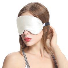 Silk Sleep Eye Mask With Wide Elastic Band