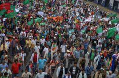 Marcha de la Federación Nacional Campesina - Fotos - ABC Color