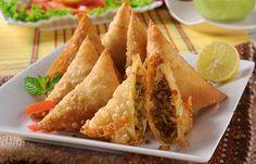 Pakistani Ramadan Recipes - Tikka Samosa