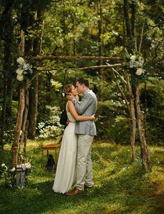 I Do Take Two Using Twigs in Your Wedding Decor