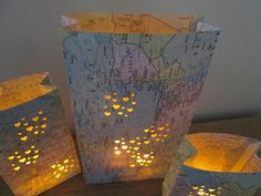 Map Centerpieces 20 Travel Theme Decorations Made di Oldendesigns, Travel Centerpieces, Simple Centerpieces, Vintage Travel Wedding, Vintage Travel Themes, Travel Theme Decor, Travel Party, Wedding Decorations, Wedding Ideas, Destination Wedding